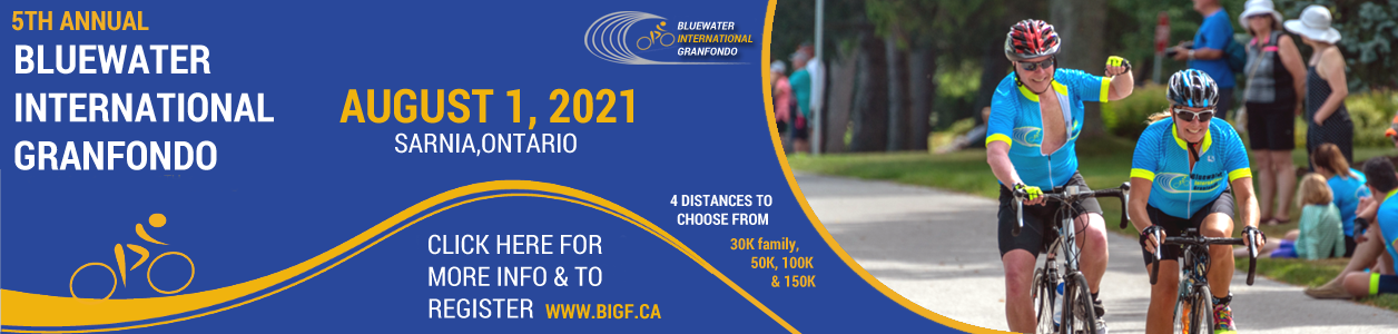 2021 Bluewater International Gran Fondo in on!