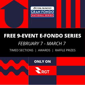 Colnago Gran Fondo National E-Fondo Championship Series