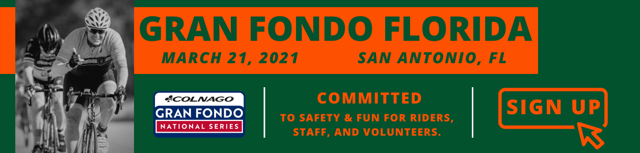 Gran Fondo Florida, San Antonio, March 21st 2021 - REGISTER NOW!