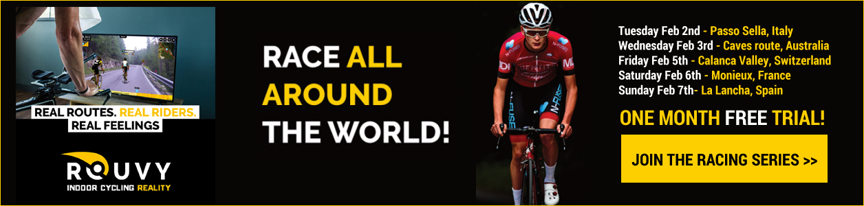 Rouvy Travel the World Race Series - ONE MONTH FREE TRIAL!