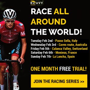 Rouvy Travel the World Race Series!